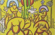 Cangaeiro acrylic on canvas 180 x 140 cm