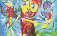 Diverso acrylic on canvas 100 x 80 cm