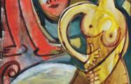 jogo sensual acrylic on canvas 80 x 120 cm